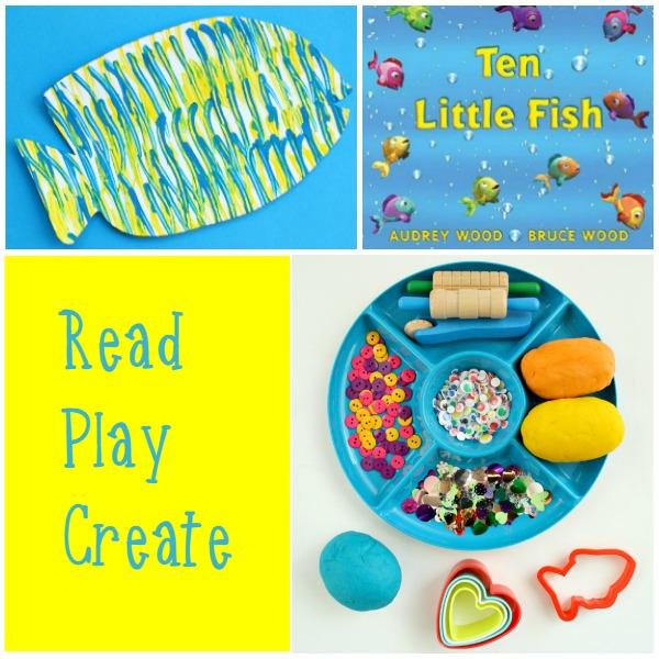 Read Play Create Fish Activities for Preschoolers