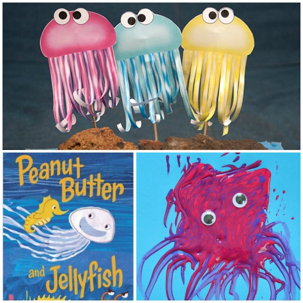 Read Play Create Jellyfish Activities for Preschoolers