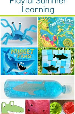 Read Play Create-Playful Summer Learning Activities-Book recommendations, play activities, and art projects for the most popular summer themes for preschool