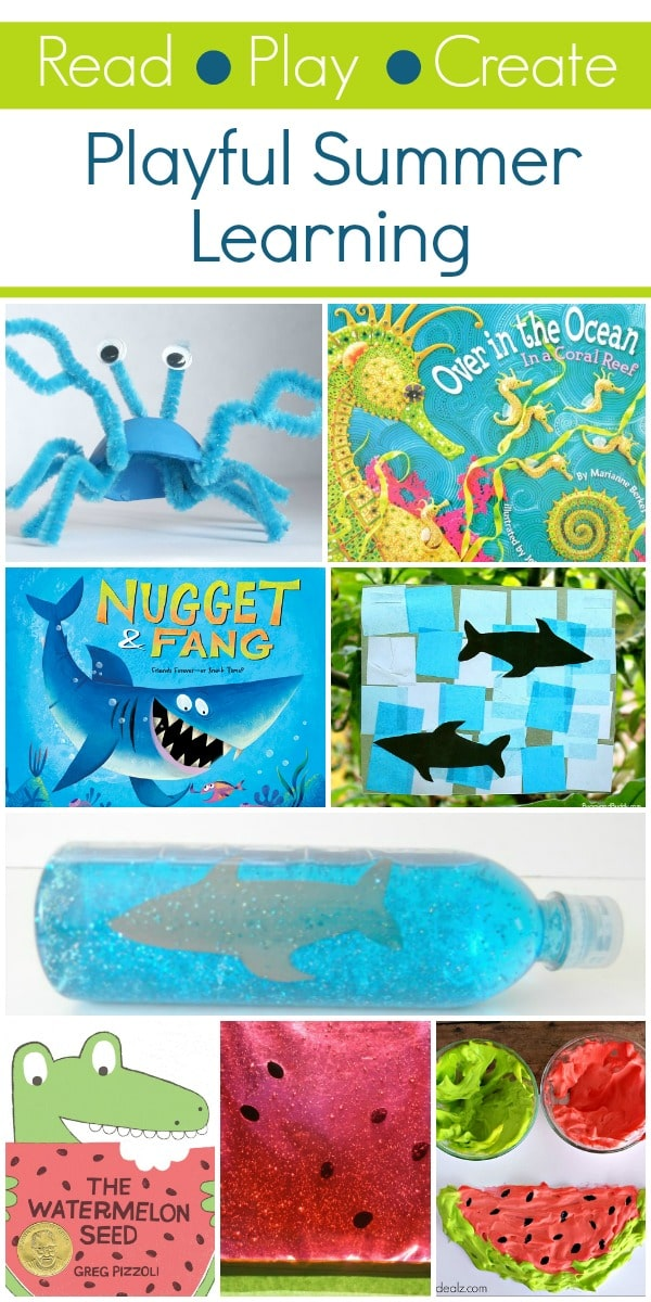 Read Play Create Playful Summer Activities For Kids