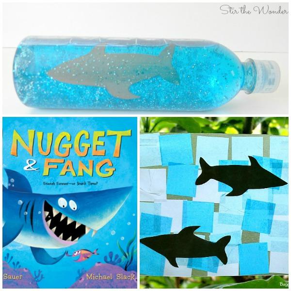 Read Play Create Shark Theme Activities for Preschool