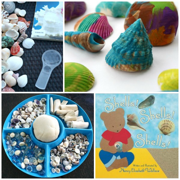 Read Play Create Shell Activities for Preschoolers