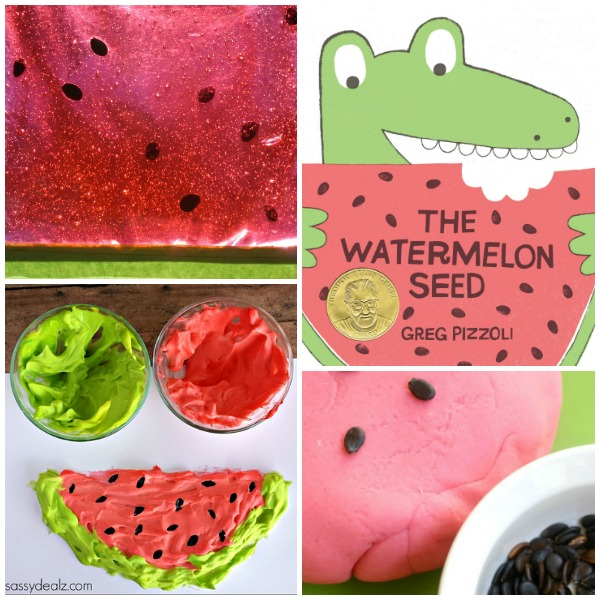 Read Play Create Watermelon Activities for Preschoolers