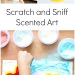 Scratch and Sniff Five Senses Art for Kids