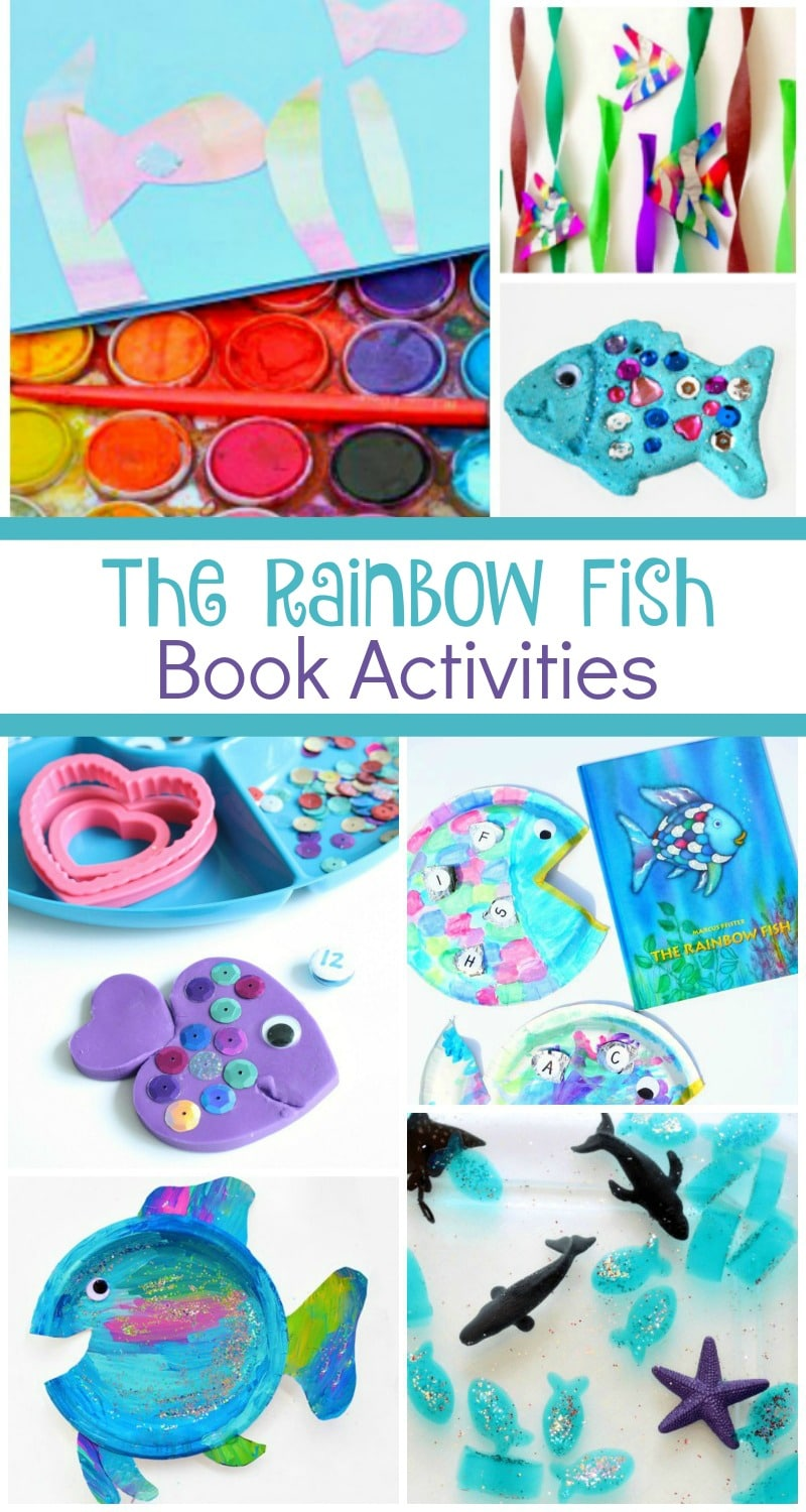 The Rainbow Fish Book Activities - Fantastic Fun & Learning