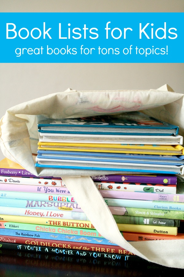 Book Lists for Kids-Favorite books for preschool and early childhood themes and topics