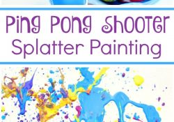 Ping Pong Shooter Painting