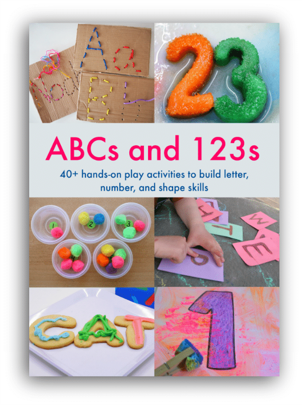 ABCs and 123s Book Cover