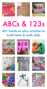 ABCs and 123s: 40+ Hands-On Play Activities to Build Letter and Math Skills