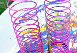 Slinky Painting