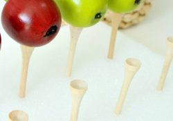 Apple Ten Frame Fine Motor Math