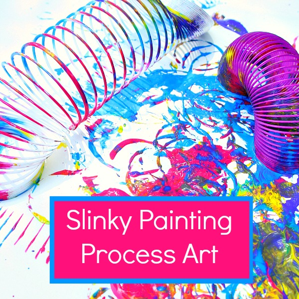 FB-Slinky Painting Process Art