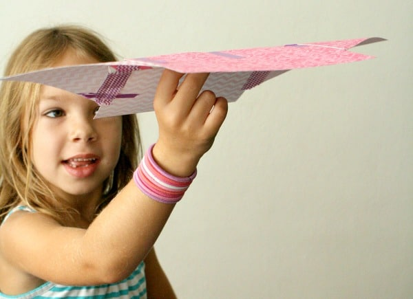 Paper and tape creations for kids