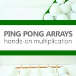 Ping Pong Arrays Multiplication Activity