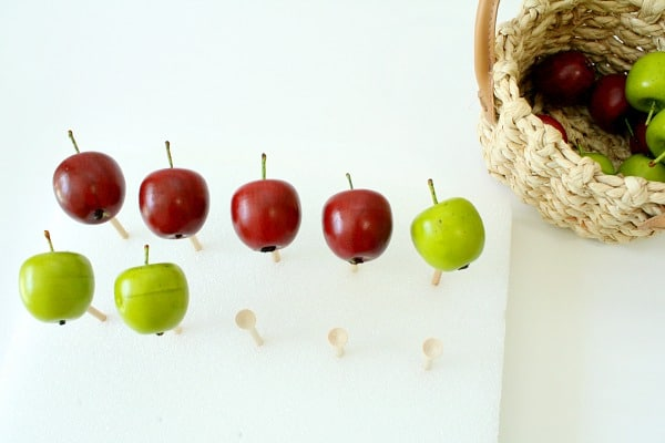 Practice addition with ten frame apple fine motor play and free printable task cards