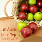 Ten Apples Up on Top Play Dough