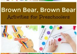 Brown Bear Brown Bear Activities for Preschoolers