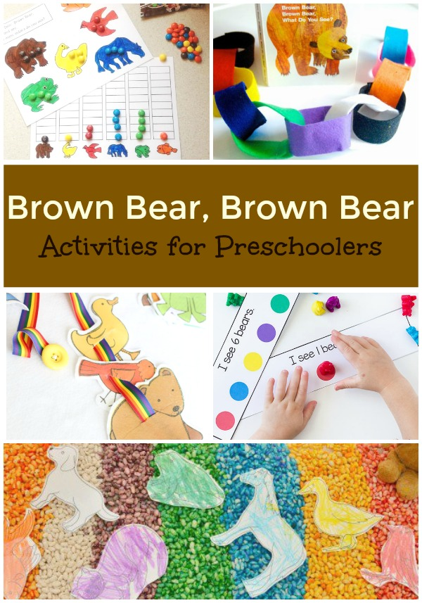 Brown Bear, Brown Bear Activities for Preschoolers