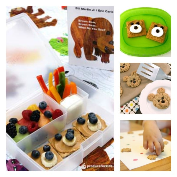 Brown Bear, Brown Bear Snacks and Treats for Kids