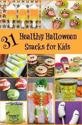 31 Healthy Halloween Snacks for Kids