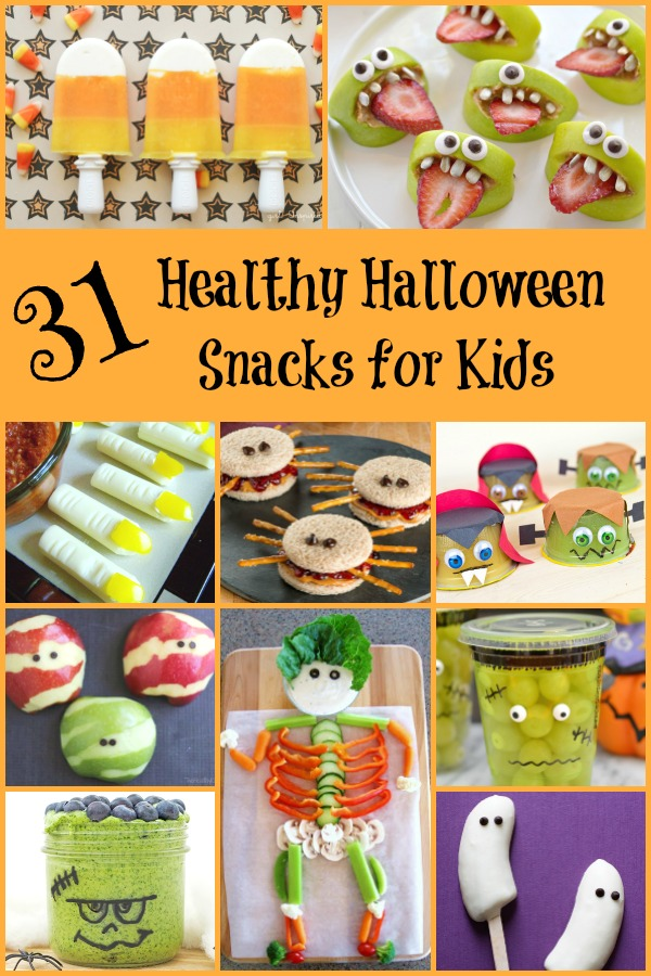 31 Healthy Halloween Snacks for Kids - Fantastic Fun ...