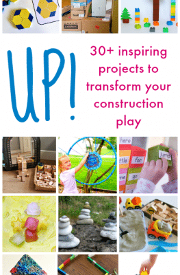 Building Activities for Kids-Up! From Blocks to Rockets