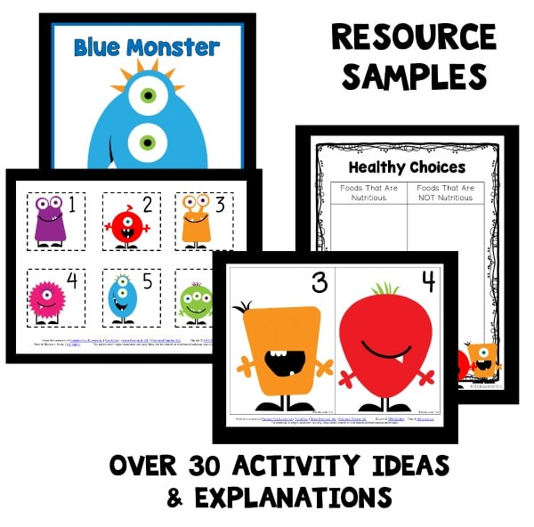 Monster Theme Preschool Activities Fantastic Fun Learning