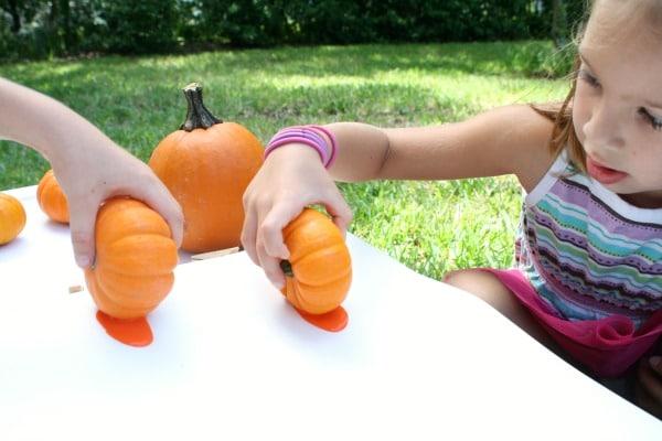 Runaway Pumpkin Painting for Kids