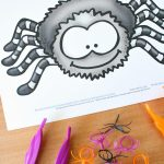 Spider Babies Fine Motor Play