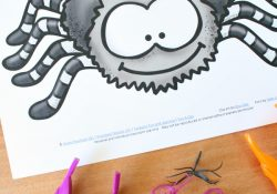 Spider Babies Fine Motor Play