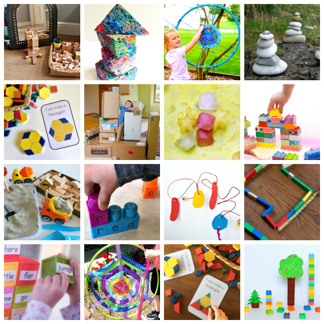 Construction and buiding activities for kids