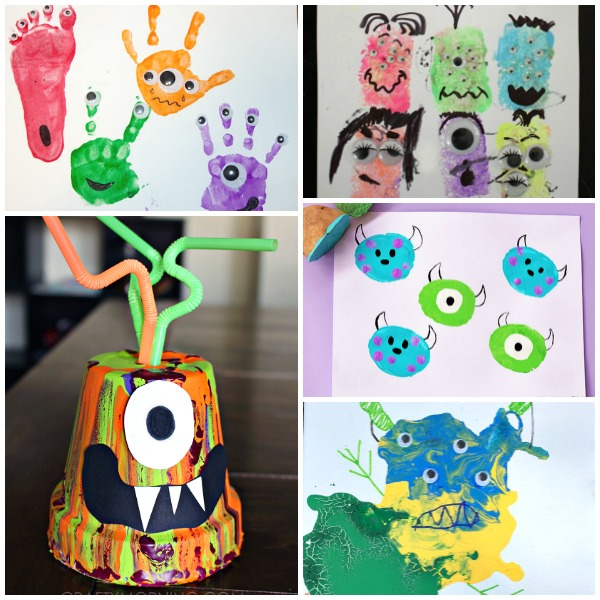 Painted Monster Crafts