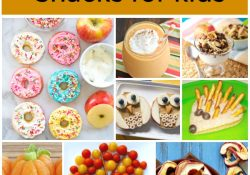 20 Healthy Fall Snacks for Kids