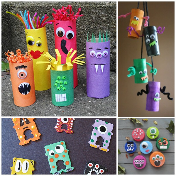 1649aeea0f5d2 Monstrous List of Monster Crafts for Kids - Fantastic Fun & Learning