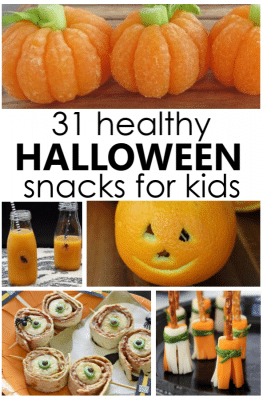 31 Healthy Halloween Snacks for Kids
