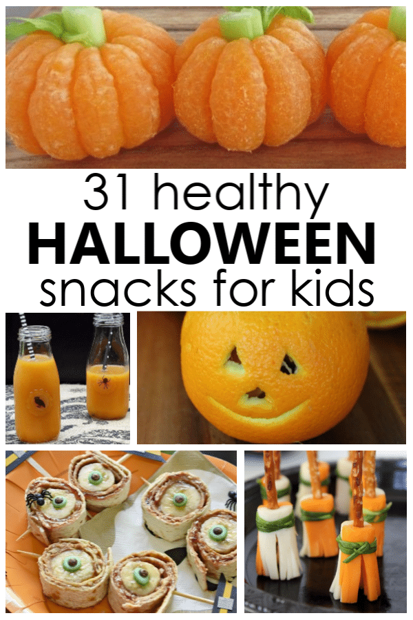 31 Healthy Halloween Snacks For Kids Fantastic Fun Learning