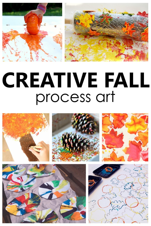 Creative Fall Process Art Ideas for Kids