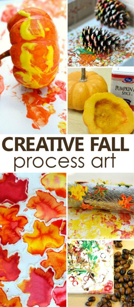 Creative Fall Process Art Ideas for Kids