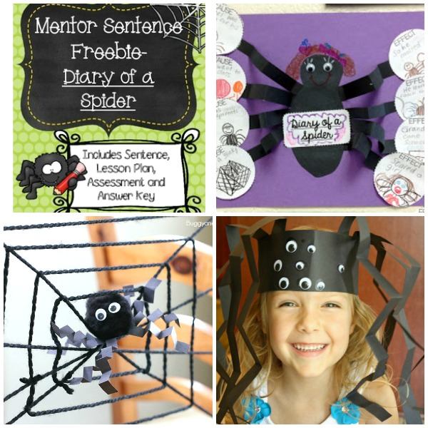 Diary of a Spider Book Activities