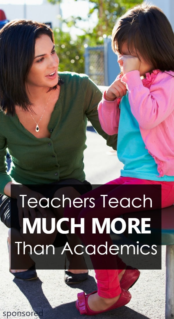 Teachers Teach Much More Than Academics-see all the little ways teachers influence our lives well beyond their own lesson plans and academic standards in honor of World Teachers' Day