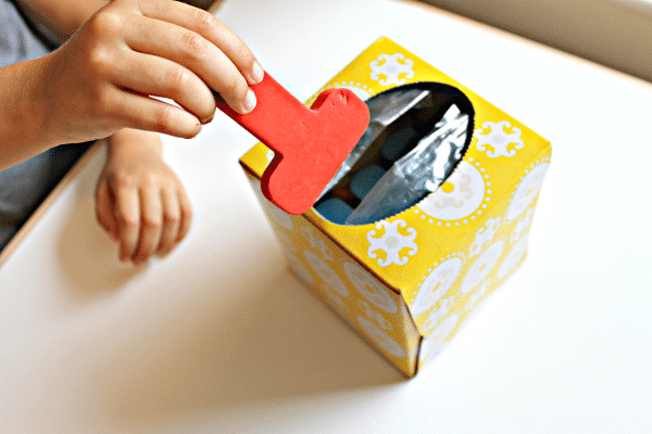 Make an Easy Letter Choosing Box