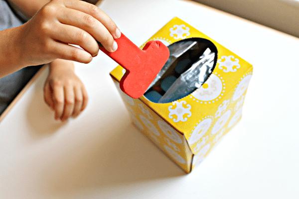 Make an Easy Letter Choosing Box