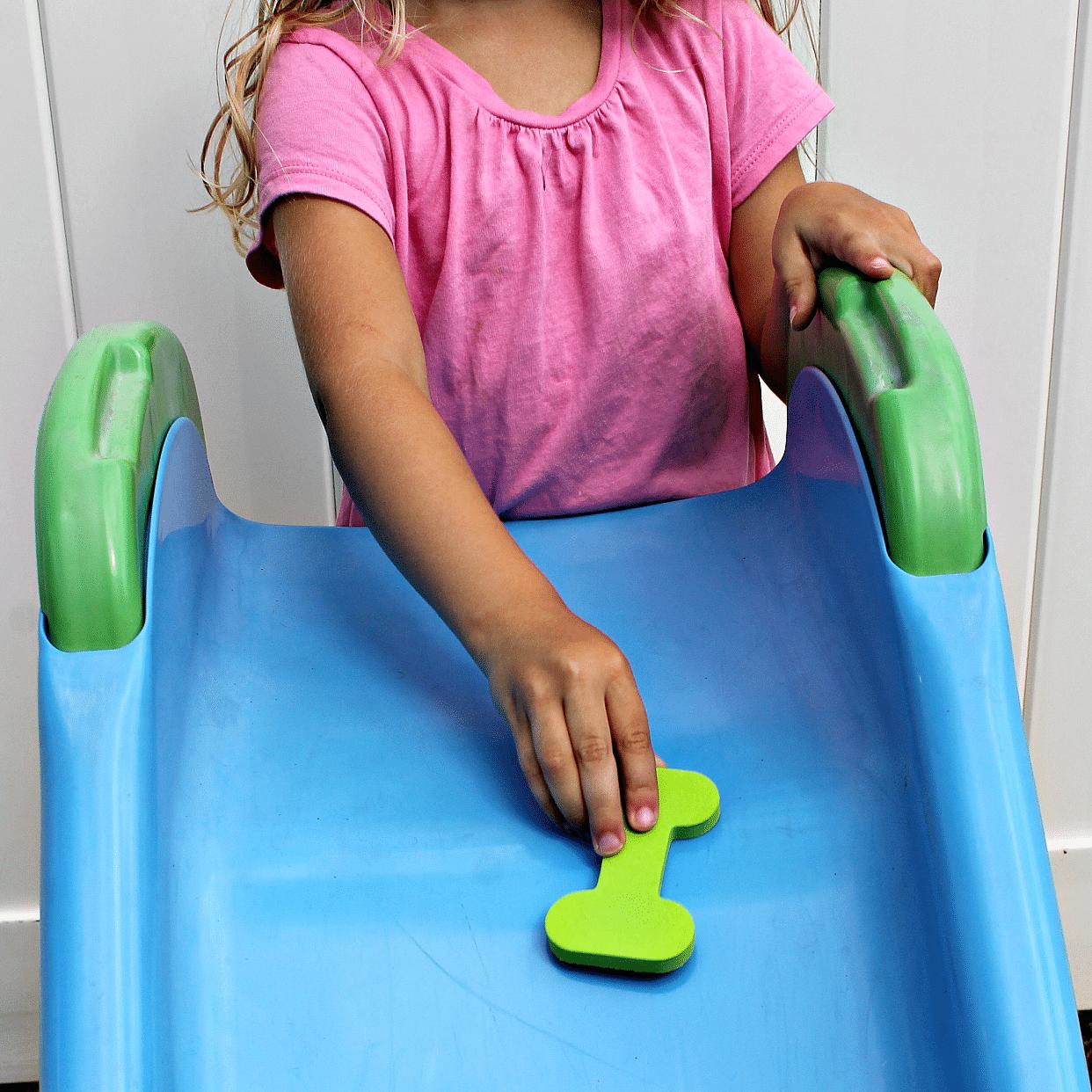 Sliding Name Game for Preschool