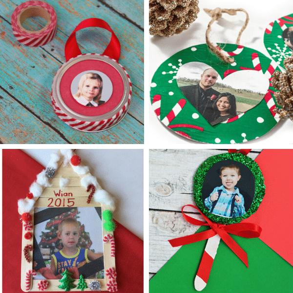 Christmas Photo Ornament Crafts