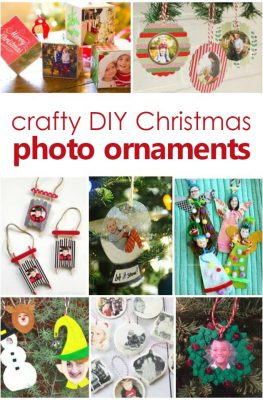Christmas Photo Ornament Crafts