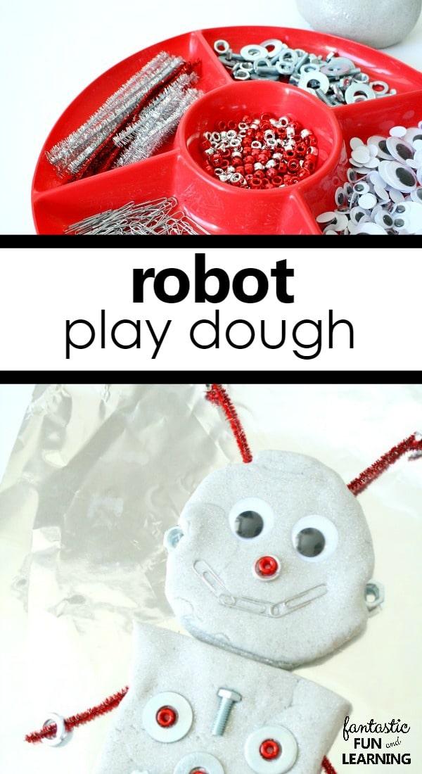 Robot Play Dough Fantastic Fun Learning