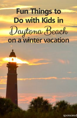 Fun Things to Do on a Winter Vacation with Kids in Daytona Beach, FL-All the best tips from a former local