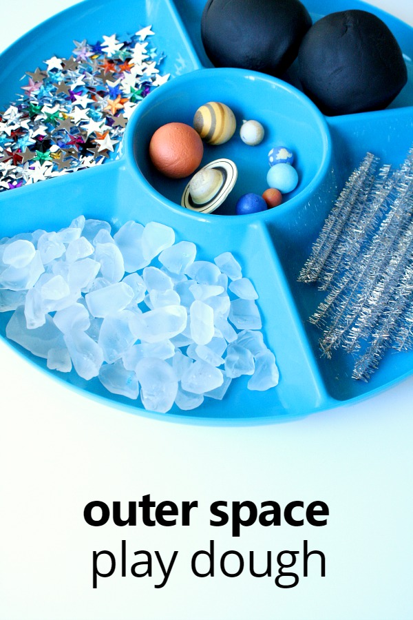 Outer Space Play Dough Invitation Fantastic Fun Amp Learning