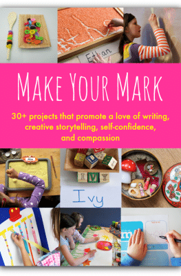 Make Your Mark -Writing activities for kids