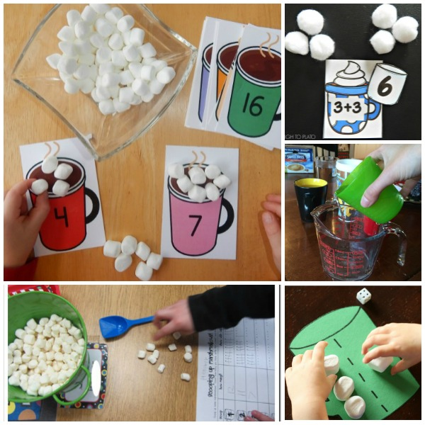 Hot Chocolate Math Activities